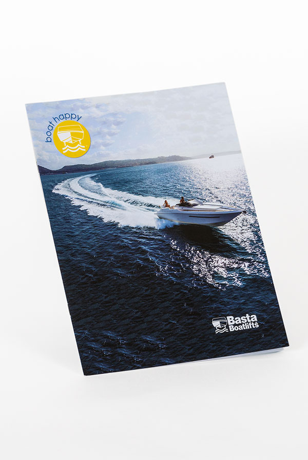 Basta Boatlifts brochure cover