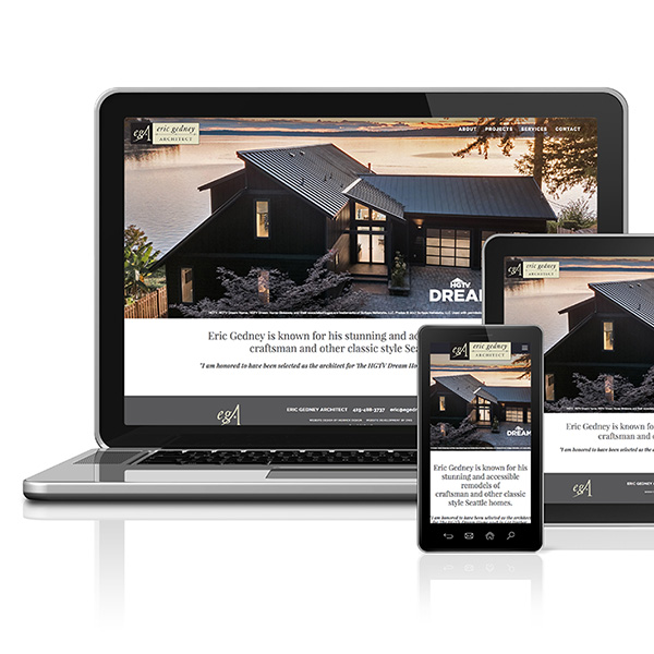 Eric Gedney Architect web site