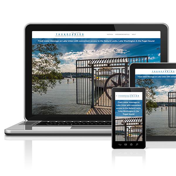 Thunderbird Marina web site
